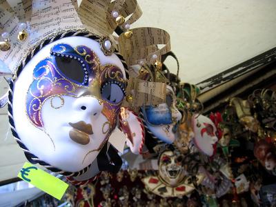 venetian mask Masken