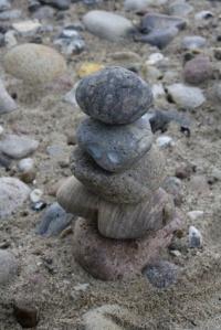 Geschichtete Steine