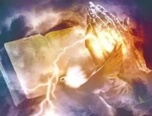 Licht, beten, Jesus, Hände