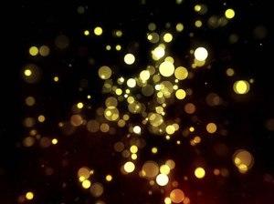 Licht, Gold, Orbs