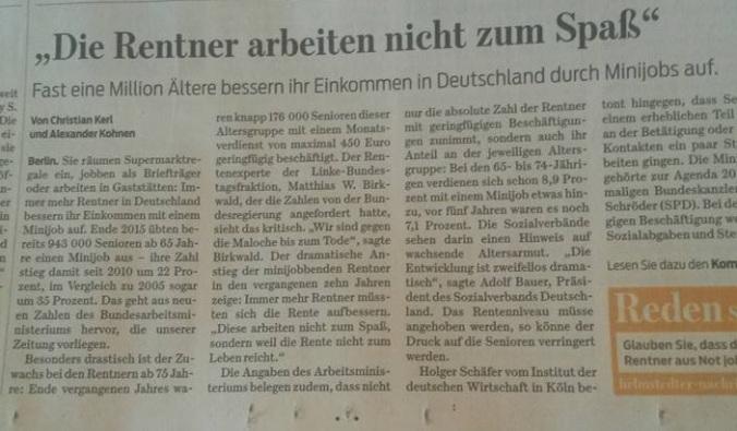 Rentner  Braunschweiger Zeitung